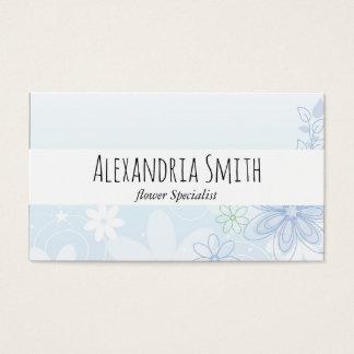 Illustrious Flowers | Elegant Business Card