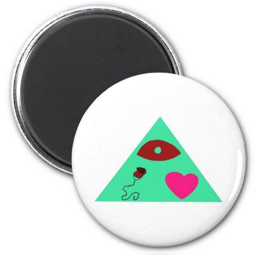 ilLUVinati 2 Inch Round Magnet