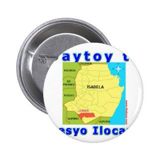 Ilocano Collections Arubub, Jones, Isabela 2 Inch Round Button