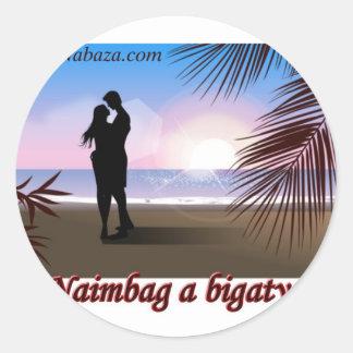 Ilocano Collections Arubub, Jones, Isabela Classic Round Sticker