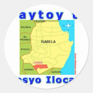 Ilocano Collections Arubub, Jones, Isabela Sticker