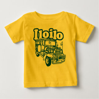 Iloilo Jeepney Playera De Bebé