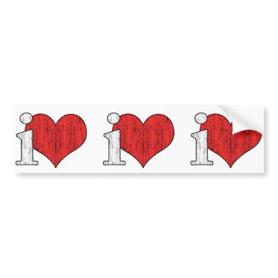 iLove Bumper Stickers