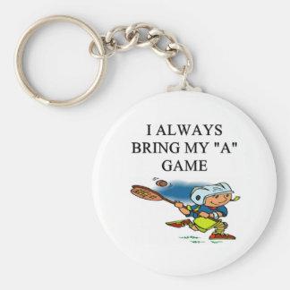 ilove lacrosse key chain