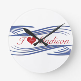 ILove Madison. multiple products selected Clock
