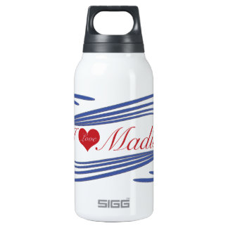 ILove Madison. multiple selected 10 Oz Insulated SIGG Thermos Water Bottle