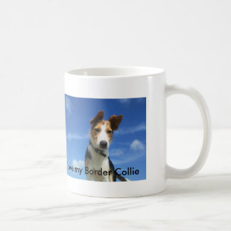 Ilove my border collie coffee mug