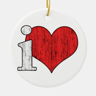 iLove Ornament