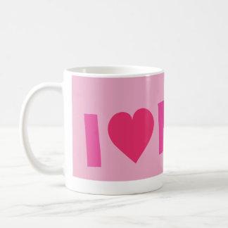 ilove pink.ai coffee mug