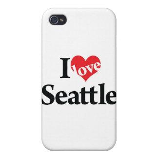ILOVE SEATTLE MUG iPhone 4 COVER