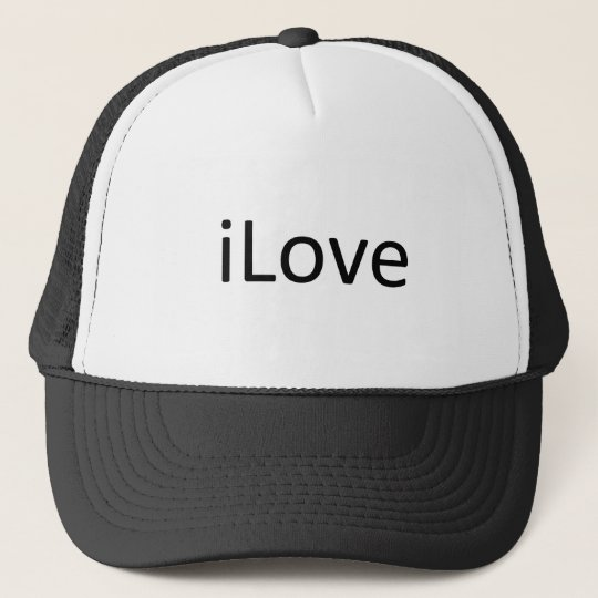iLove Trucker Hat