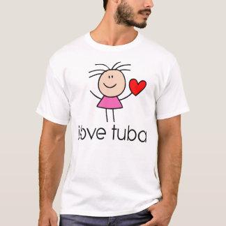 iLove Tuba Gift T-Shirt