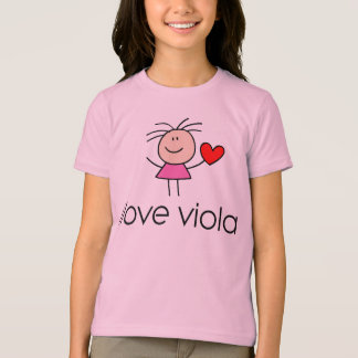 iLove Viola Lover Gift T-Shirt