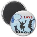 iLovebasketball Fridge Magnet