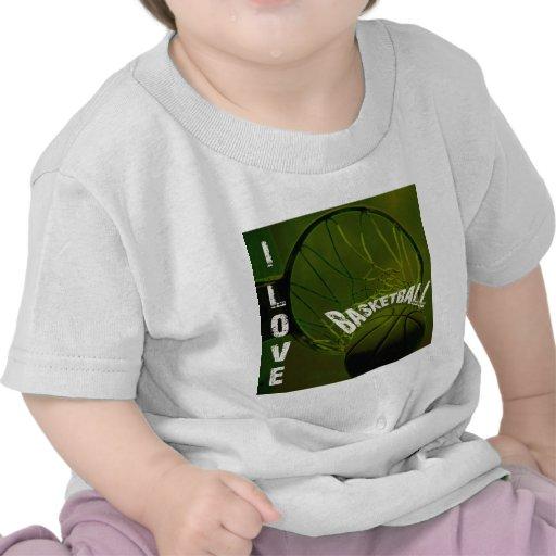 ILoveBasketball la roca Camisetas