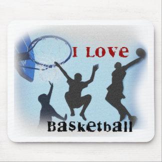 iLovebasketball Mouse Pad