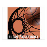 ILoveBasketball Rebound Post Cards