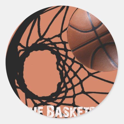 ILoveBasketball Rebound Sticker