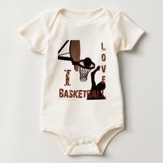 ILoveBasketball Shooter Baby Bodysuits