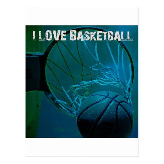 ILoveBasketball Swish Postcard