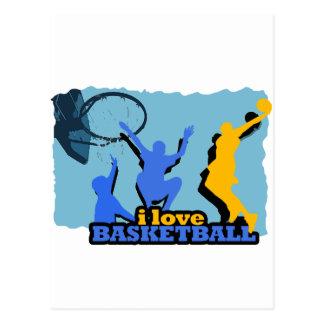 ILoveBasketball Throw It Down! Postcard