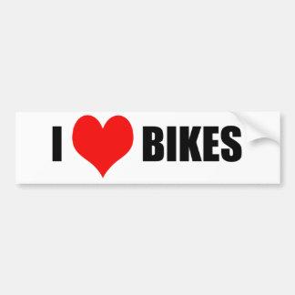 Ilovebikes Bumper Sticker