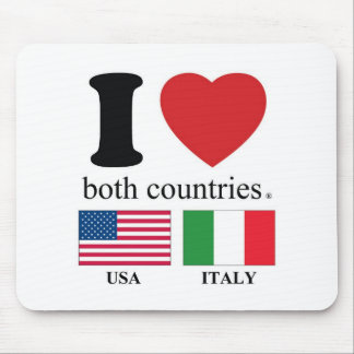 ilovebothcountries mouse pad