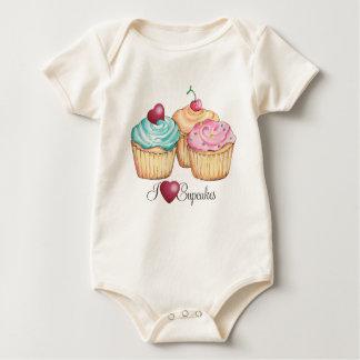ILoveCupcakes Baby Bodysuit