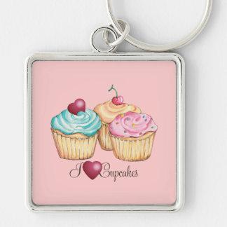 ILoveCupcakes Keychain