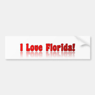 iloveflorida bumper sticker