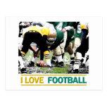 ILoveFootball Postcard