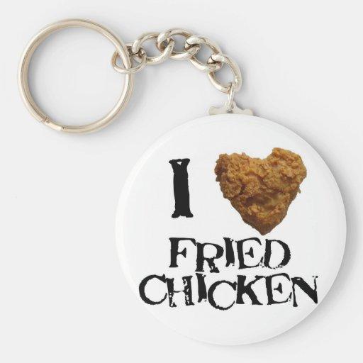 ilovefriedchicken key chain