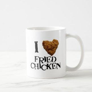ilovefriedchicken classic white coffee mug