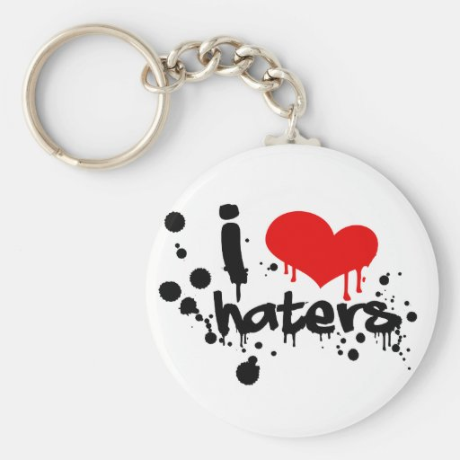IloveHaters_Poster_7800x5200_LIGHT Key Chains