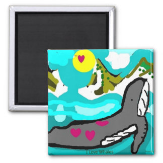 ilovehumpbackwhales magnet