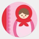 ILoveMat1 Classic Round Sticker