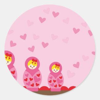 ILoveMat3 Classic Round Sticker
