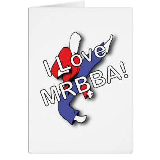 ILoveMRBBA Greeting Card