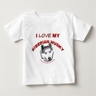 ILoveMy Sibe-SASHA Baby T-Shirt