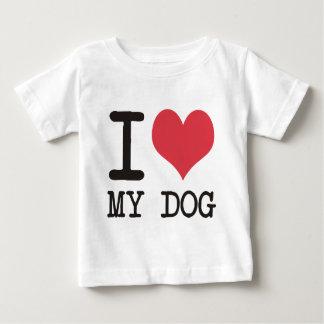 ilovemydog baby T-Shirt