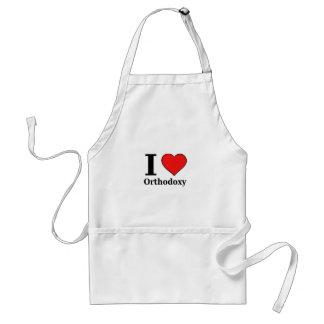 iloveorthodoxy1black adult apron