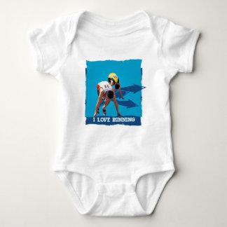 ILoveRunning Oxygen Baby Bodysuit