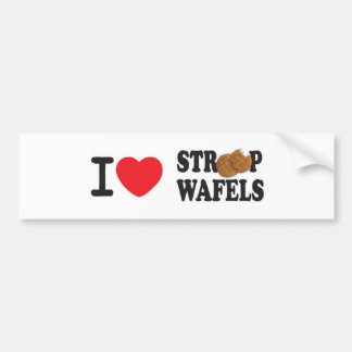 iLoveStroopwafels.com Bumper Sticker