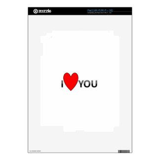 ILOVEU iPad 2 SKIN