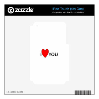 ILOVEU SKIN FOR iPod TOUCH 4G