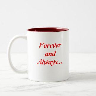 ILoveYou, Foreverand Always... Two-Tone Coffee Mug