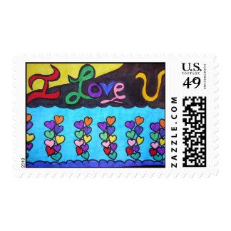 ILoveYou Postage Stamp