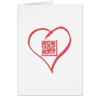 iloveyou_scancode_redheart greeting card