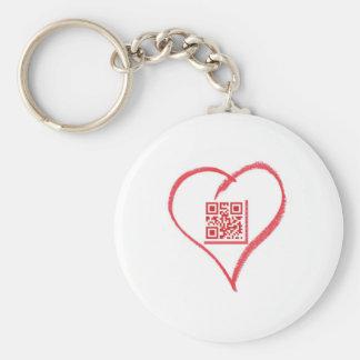 iloveyou_scancode_redheart llavero redondo tipo pin