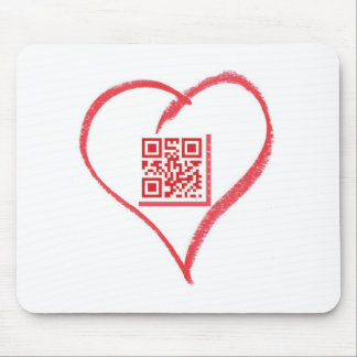 iloveyou_scancode_redheart mouse pad
